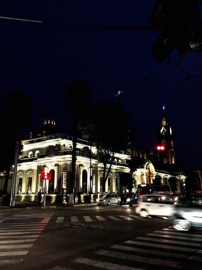 Walking Night Architecture Illuminated Street Building Exterior City FreeTime No People