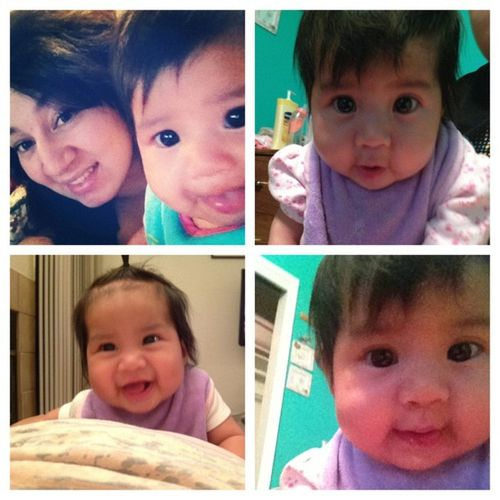 I swear I'm obsessed with my little girl ;) Daughter MommyLove Happybaby