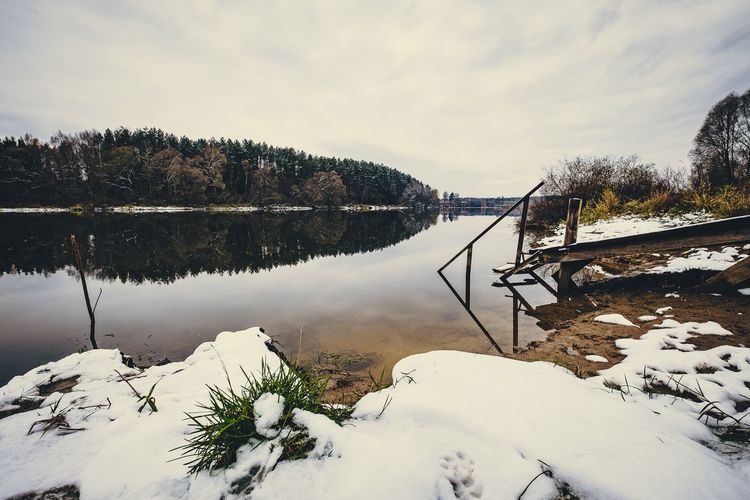 Just winter came ... Nature Cold Temperature Snow Sky Beauty In Nature Water No People Landscape River Nature Outdoors River Moscow Beauty In Nature Xt20 Landscape_photography Landscape_Collection Fujifilm_xseries Fujifilmru River View Riverside Photography Xf10-24mm Xf1024 Moscow Region