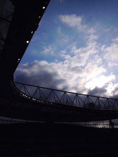 3 O'clock Saturday Arsenalfc  Coyg Sky And Clouds