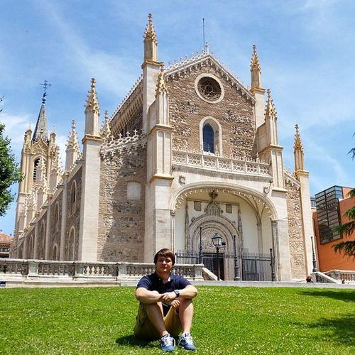 Mik Iglesiadelosjeronimos Ihungary Ikozosseg Madrid summer nyár galaxys5 spain espana españa