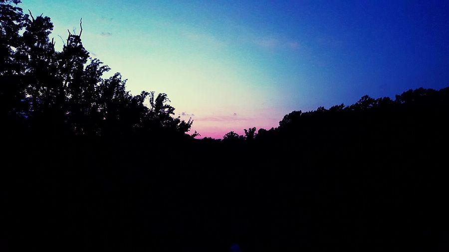 Sun down in my