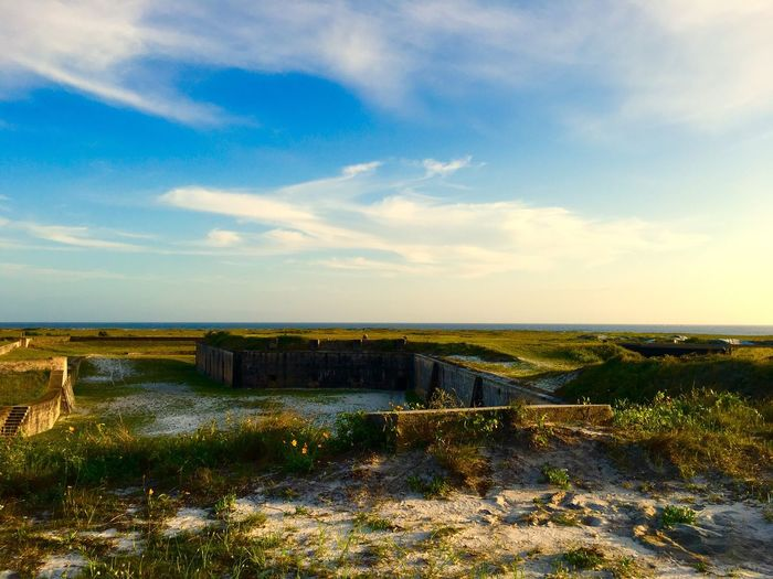 View from Fort Pickens Travel Photography Nationalpark National Park Pensacola Historic Fort Sunset #sun #clouds #skylovers #sky #nature #beautifulinnature #naturalbeauty #photography #landscape Visitflorida Enjoying Life Fort Pickens National Park Fort Pickens Florida Gulf Islands National Seashore LoveFl Pensacola Beach Pcola Visit Pensacola Travelphotography Travel Blue Wave Showcase April Blue Sky Nps