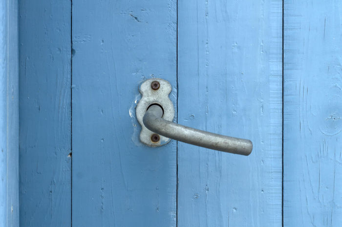 Blue Door Backgrounds Blue Blue Door Close-up Closed Contrasto Convenience Day Door Door Handle Easy Entrance Entry Full Frame Home Sweet Home Latch No People Outdoors Place Of Heart Protection Safety Simple Simple Things In Life Simplicity Wood - Material