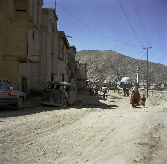 Afghanistan Burka  City Life Kabuki