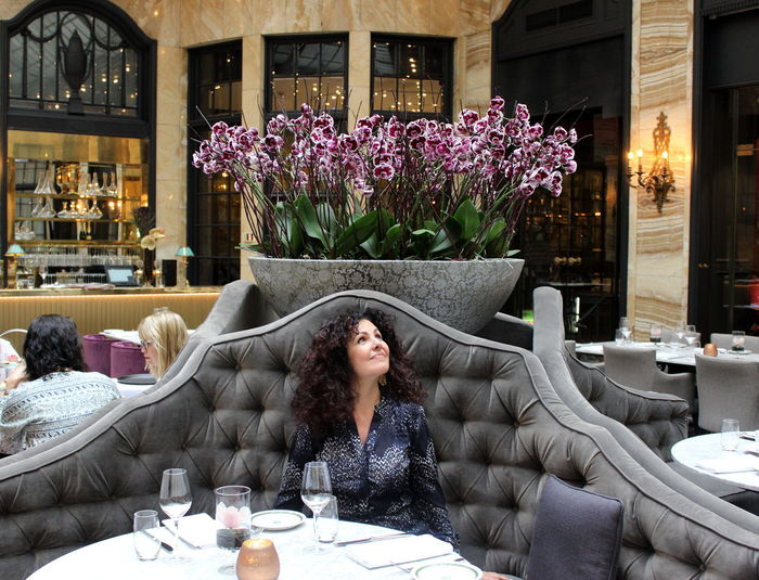 One Person Adult People Sitting Indoors  Relaxation Smiling Dining Table Restaurant Oslo Grandhotel People Photography People And Places People Of EyeEm Pet Portraits