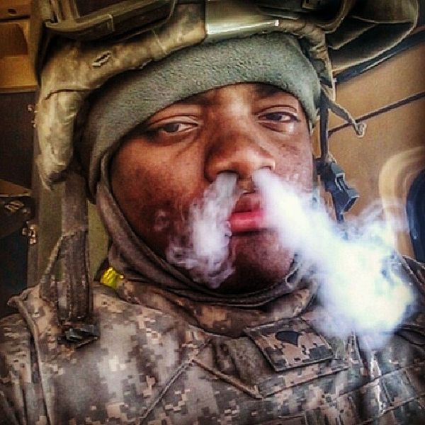 Done with this field shit. Now its time to get my toes tendered to. Yadig ArmyLife ArmyStrong TLC