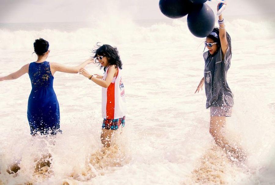 Jump! Ujung Genteng, Jawa Barat. Ujung Genteng Beach Travelling The Explorer - 2014 EyeEm Awards