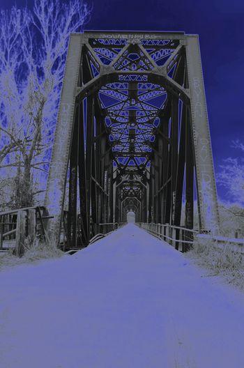 Creative Light And Shadow Carpenter Bridge Red River OK Denison TX
