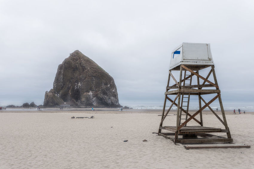 Beach Beach Photography Beachphotography Day Goonies Haystack Rock Landscape Lifeguard  Oregon Oregon Coast Sand Seascape Travel Travel Destinations