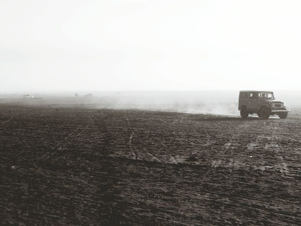 Take Photos Jeep Wrangler  Caldera Canon Ixus From My Point Of View Eyeemphotography EyeEm Bnw EyeEm Indonesia Travel Photography Deserts Around The World The Drive. The Drive