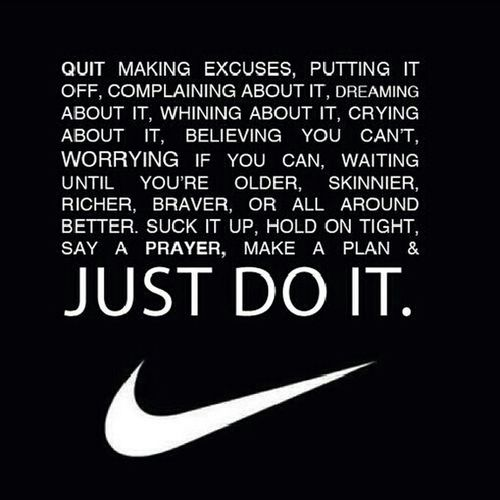 - Jst Do It ;