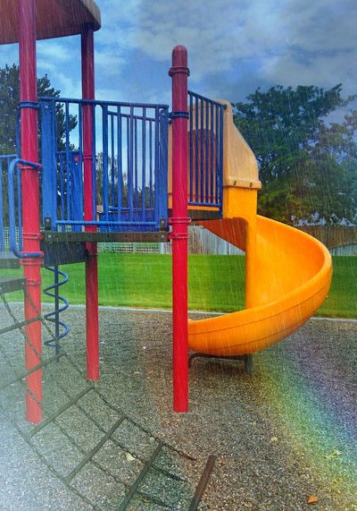 The Color Of School Washington State Playground Rain Rainy School Day No Recess
