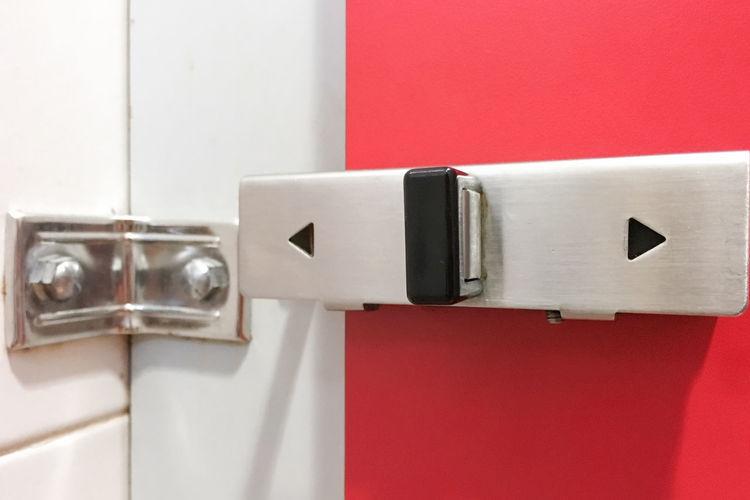 Black Bolt Door
