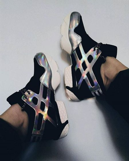 My love ☁ Hologram Sneakers Space Beautiful