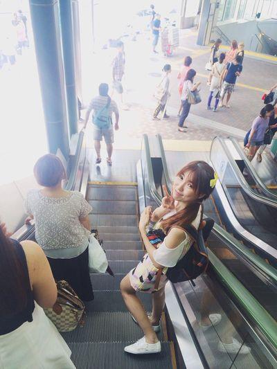 """Porjaa"" my sister. Throwbacktokyotrip2014 Tokyo Japan"