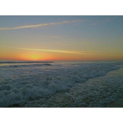 Sunset Today was... Vscocamphotos Sunset Beach BeachVisuals TidesWavesVscocamSundayPotdRadDayWentSwimming