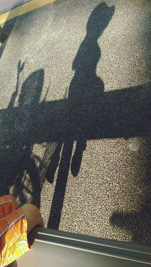 Up Close Street Photography Outdoors Day Bus Stop waiting Shadow