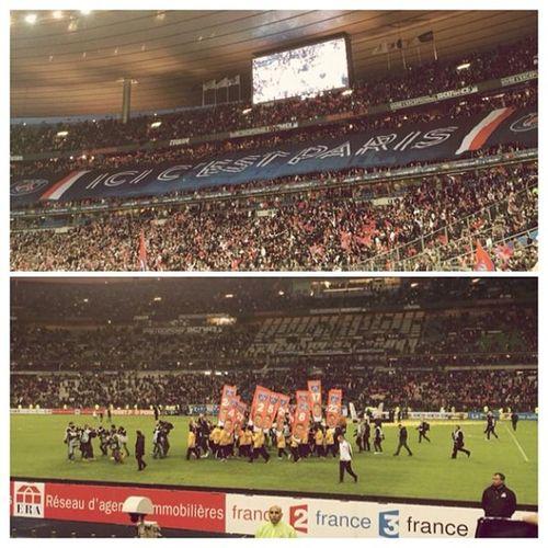AllezParis Coupedelaliguefinal PSG  Cavani Live Stadedefrance Paris France Fuzel @fuzelapp