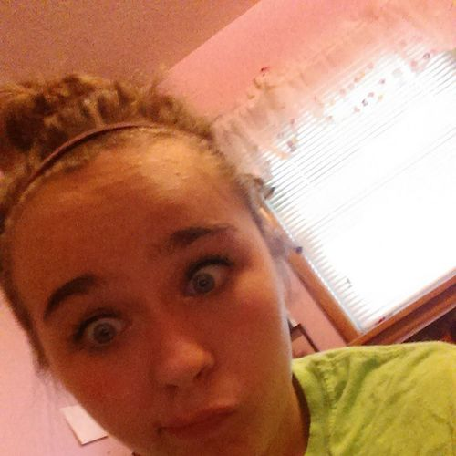 Threw my hair in a bun and I am ready for my brother's baseball practice! Letsdothis GonnaDoMathHomework