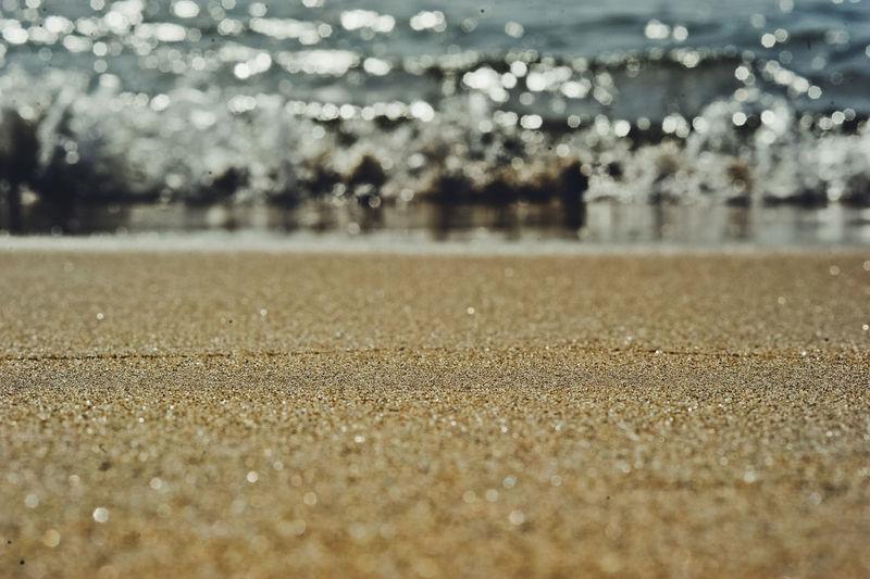 Defocused image of water