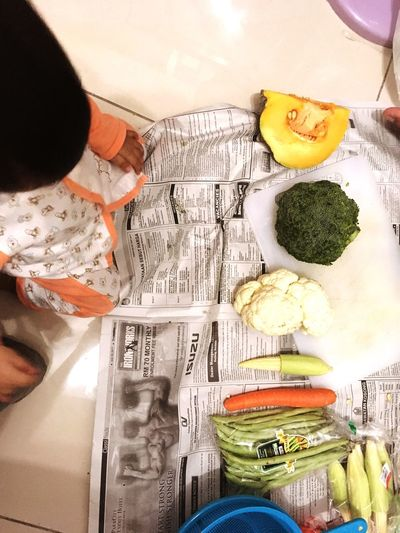 Learning is a never ending process Food Vegetable Healthy Eating Babyfood