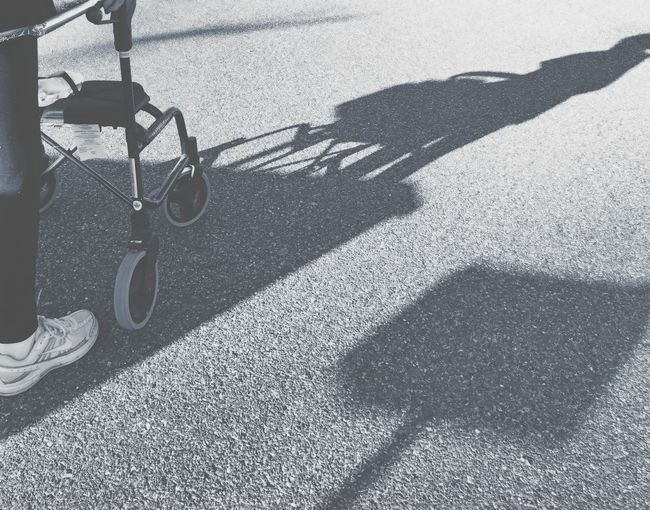 Elderly Person Elderly Walking Healthy Lifestyle Shadow Outdoors Human Leg Lifestyles Day One Person Low Section Focus On Shadow Snap A Stranger
