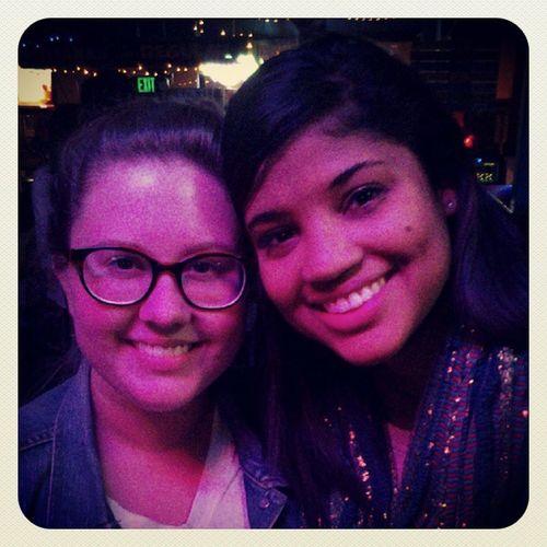 My two favorite ladies @kthug and @briannaweekley