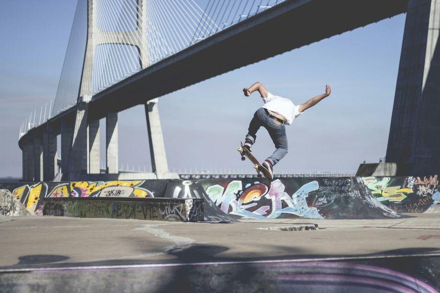 Skateboarding Skate Skatelife Skatepark Skaters Skateboarder Ponte Vasco Da Gama Vascodagama Portugaldenorteasul Lisbon
