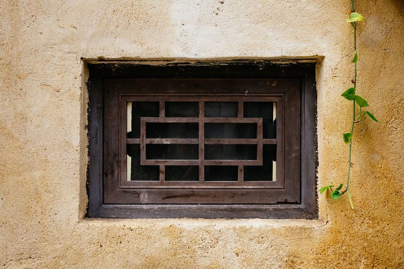 Window Chinese Building Chinese Style Chinese Window Built Structure Architecture Building Exterior Window No People Day Wall - Building Feature Building Textured  Outdoors Protection Security Low Angle View Pattern House Geometric Shape Shape Wall Close-up Safety