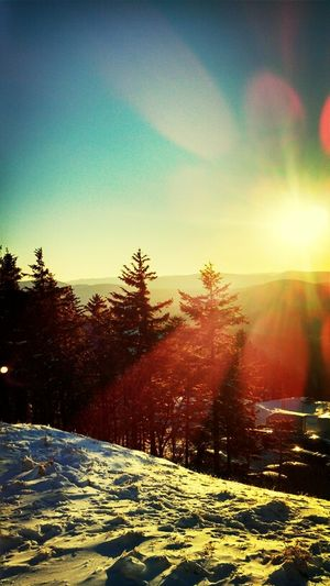 missing west virginia so much already... Snowboarding West Virginia Sun Take Me Back To The Fresh Powder West Virginia Sunset