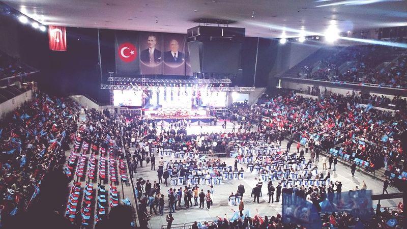 3 Mayıs Ankara Arena Türkçülük Kurultay