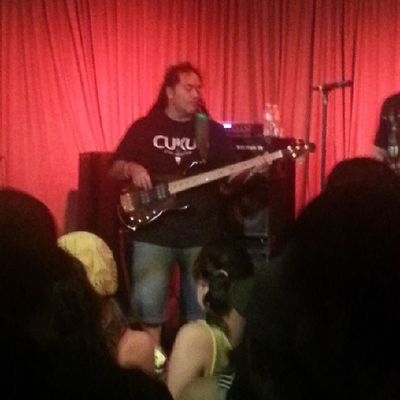 Tere on the bass for Katchafire Reggae Phoenix Islandreggae Crescentphx live katchafire