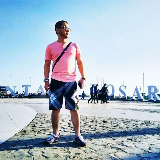 Enjoying Life Makassar Losari Beach