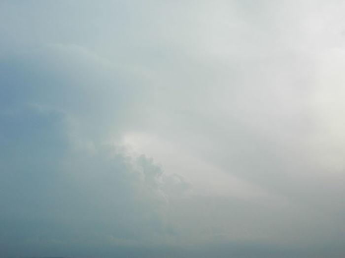 Cloudy Sky Gray