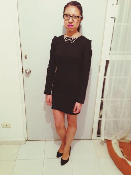 Yo That's Me Little Black Dress Model