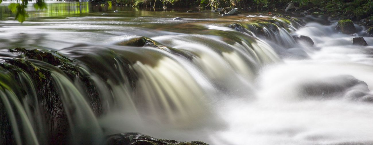 Caldbeck weir Motion Waterfall Water Blurred Motion Long Exposure Flowing Water Splashing Beauty In Nature Flowing Outdoors Running Water Cumbria Caldbeck