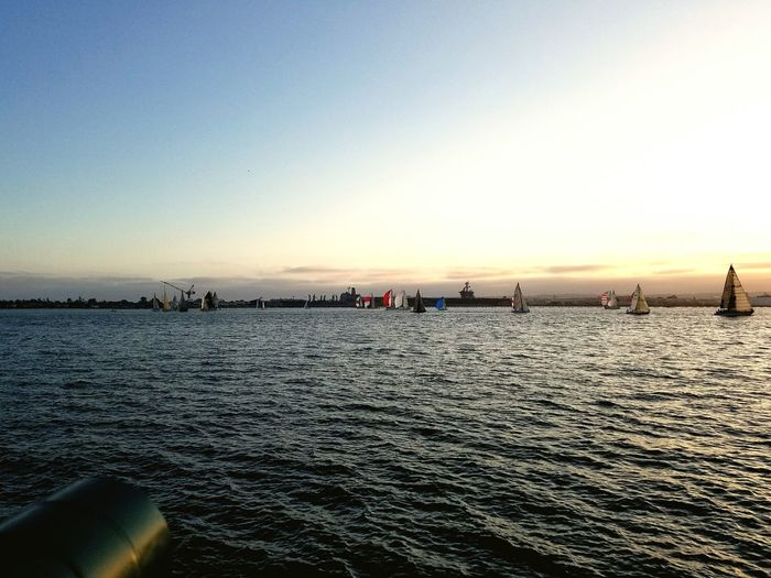 Sailboat parade.... First Eyeem Photo