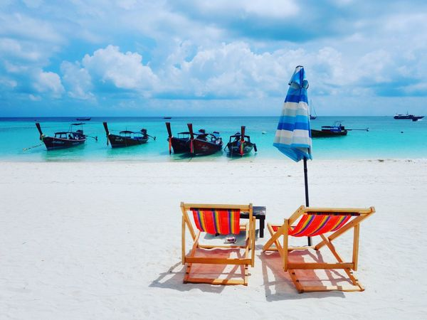Pattaya Beach Koh Lipe Satul Thailand Iamonmywaytoeverywhere Beach Sky Whitesand Cloud Long Boat Relax Paradise Island Life Mother Nature Nature Natural Beauty