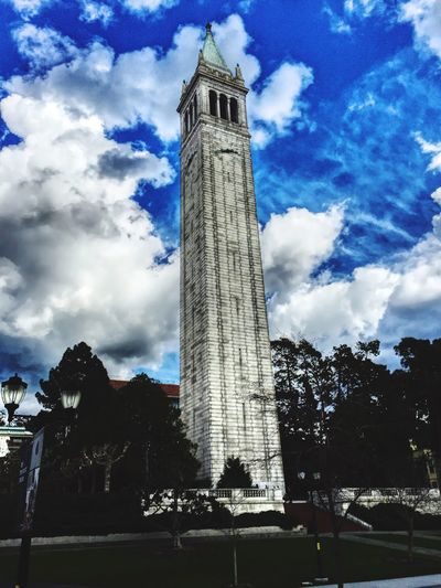 Sather Tower Ucberkeley campus.