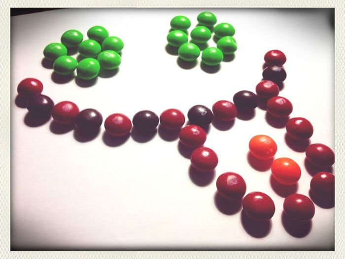 Made With Skittles .