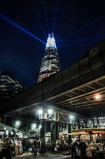 The old and the new. Night Architecture City Life Illuminated Building Exterior Outdoors Sky Street Photography #photo #photos #pic #pics #tagsforlikes #picture #pictures #snapshot #art #beautiful #instagood #picoftheday #photooftheday #color #all_shots #exposure #composition #focus #capture #moment Theshard Borough Market