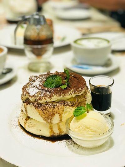 Fluffy Pancake Tiramisu 😍😘🏃🏾♀️ Fluffy Pankakes Tiramisu