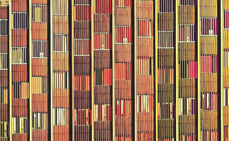 Architecture Colors Don't Be Square Building