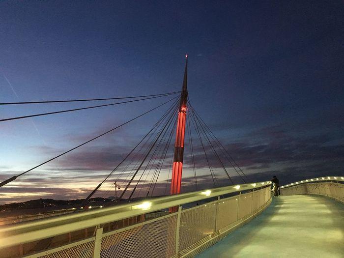 Sea Bridge Sky