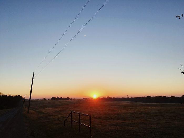 Sommergefühle Texas Landscape Sun Nature Sky Texas Skies Texas Texas Sunrise Morning Morning Light Sunlight