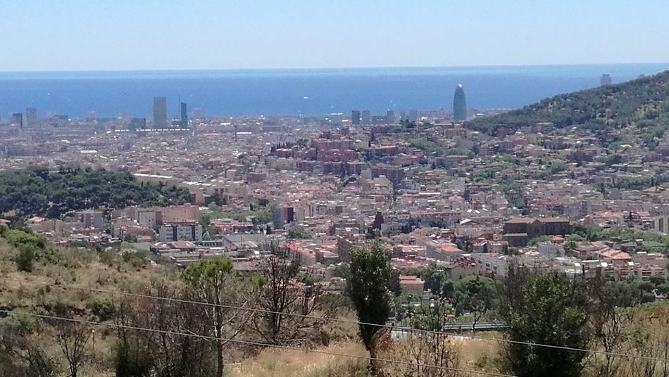 Skyline Barcelona des del mirador de Collserola Igersbarcelona Igersbcn Igerscatalunya Igerscatalonia Igcatalonia