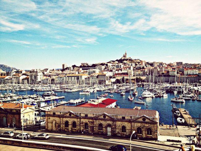 notre Dame vieux port Marseille City