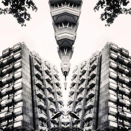 Symmetry Symmetryporn Symmetrybuff Abstracting_architects mirrorgram southlondon