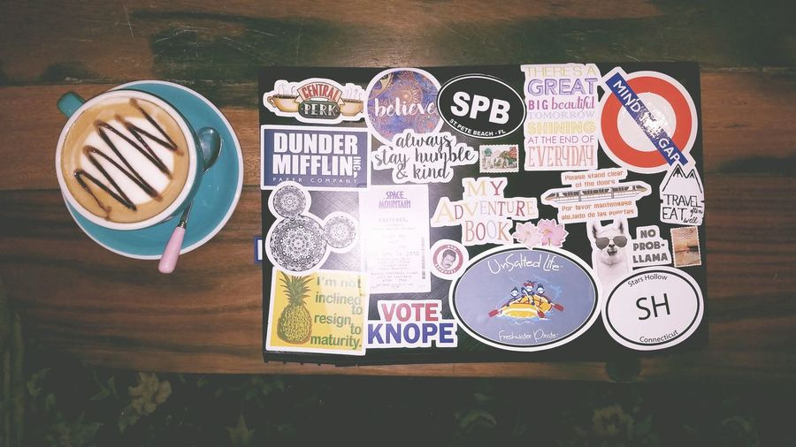 coffee time. Laptop No People Indoors  Close-up Day Text Coffee Time Coffee Cup Coffee ☕ Coffee Shop Coffee Break Red Bubble Stickers Tv Shows Xiamen University Xiamen,China 厦门中国 Lenovo Y50 EyeEmNewHere